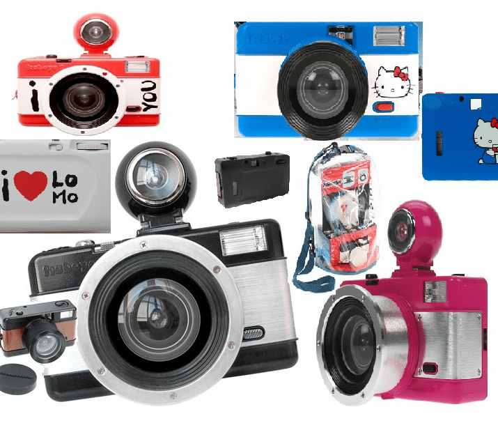 Lomography 35mm Fisheye Cameras
