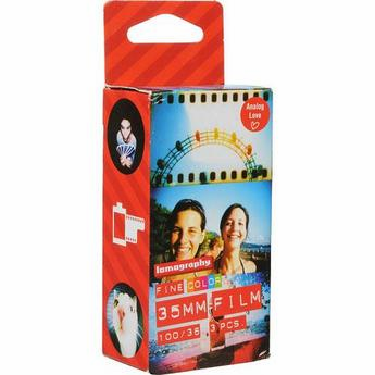Lomography 35mm x 36 ISO 100 Fine Color Negative Film - 3 Pack