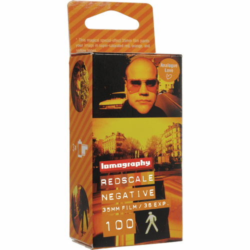 Lomography 35mm x 36 ISO 100 Redscale Negative Film - 3 Pack