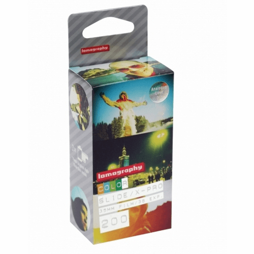 Lomography 35mm x 36 ISO 200 X-Pro Slide Film - 3 Pack