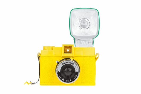 Lomography Diana F+ 120 Camera Buttercup