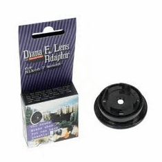 Lomography Diana F+ Adaptor for Nikon F mount SLR/DSLR