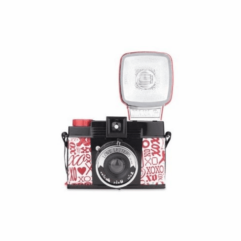 Lomography Diana F+ W/Flash Love Letters