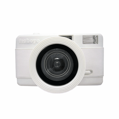Lomography Fisheye Camera ALL White