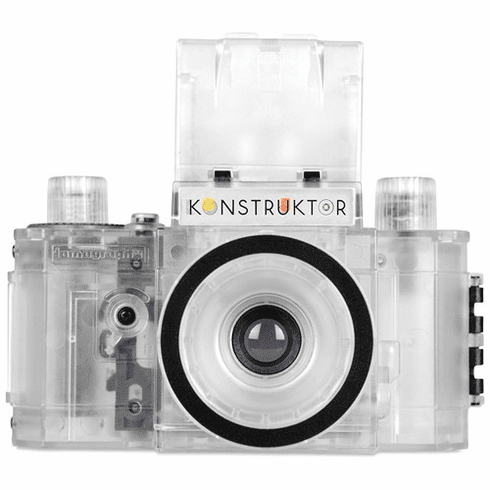 Lomography Konstruktor Do-It-Yourself 35mm Film SLR Camera Transparent Collector's Edition Kit