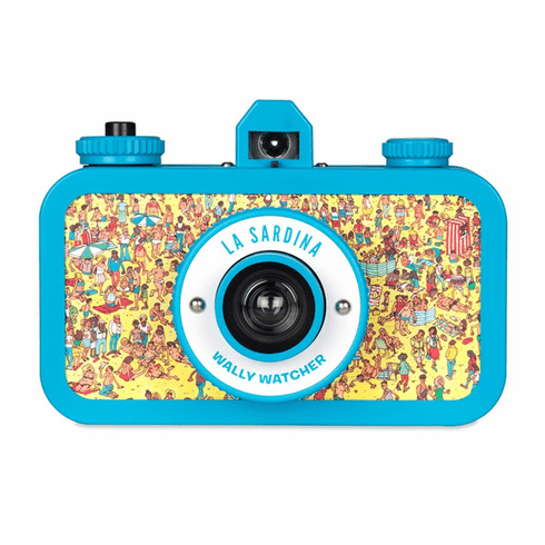 Lomography La Sardina Wally Watcher 35mm Panoramic Camera