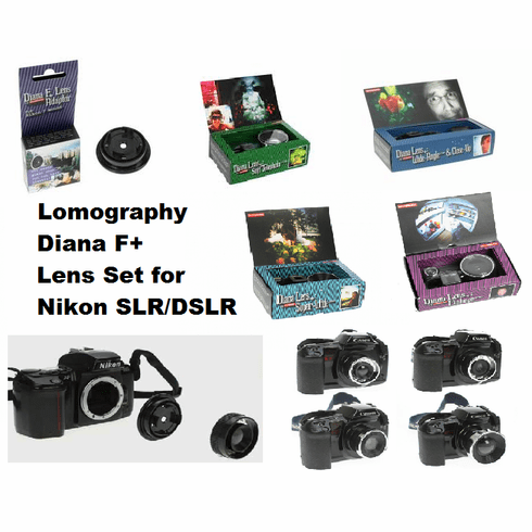 Lomography Nikon SLR Adaptor Lens Bundle