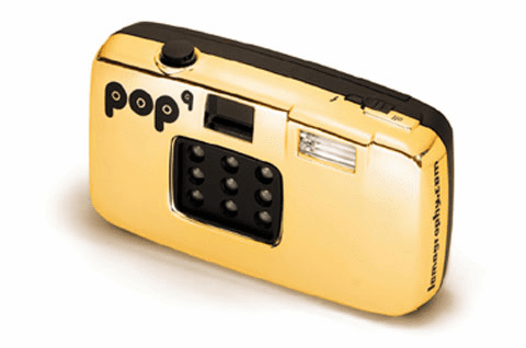 Lomography Pop 9 Camera 35mm Gold