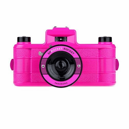 Lomography Sprocket Rocket 35mm Panoramic Camera Pink