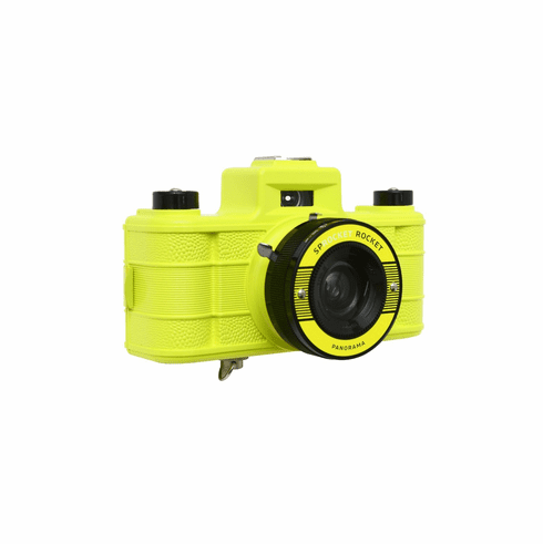 Lomography Sprocket Rocket 35mm Panoramic Camera Yellow
