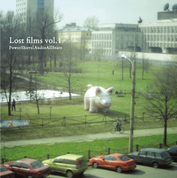 Lost Films Vol. 1 by Various Artists Powershovel Audio - CD