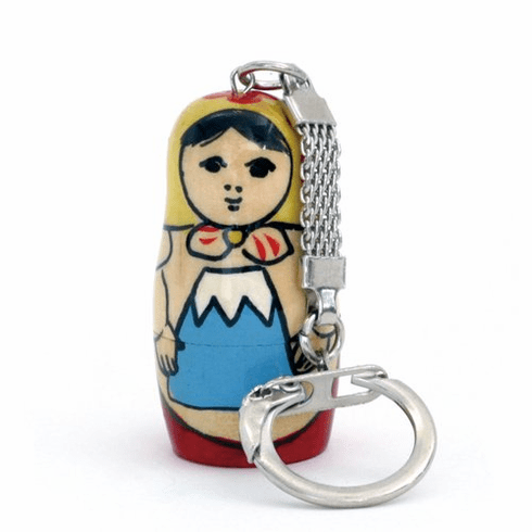 Matoki (Mount Fuji) Wooden Matryoshka Doll Russia Key Chain-superheadz