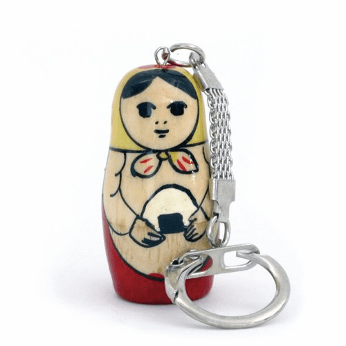 Matoki (rice balls) Matryoshka Russia Key Chain-superheadz