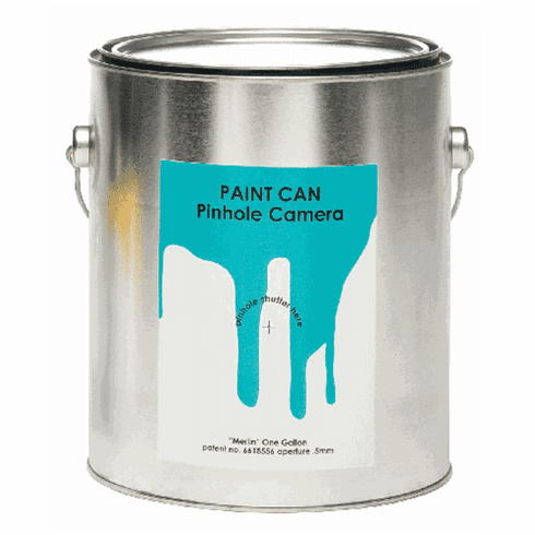 Merlin Paint Can Pinhole Camera 1 Gallon