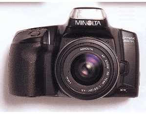Minolta Maxxum 300si 35mm SLR Film Camera - with  AF 35-80 F4-5.6 Zoom Lens - RB