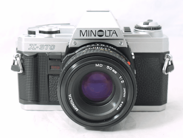 Minolta X-370 35mm Camera with 50mm Lens- Student Camera - Used