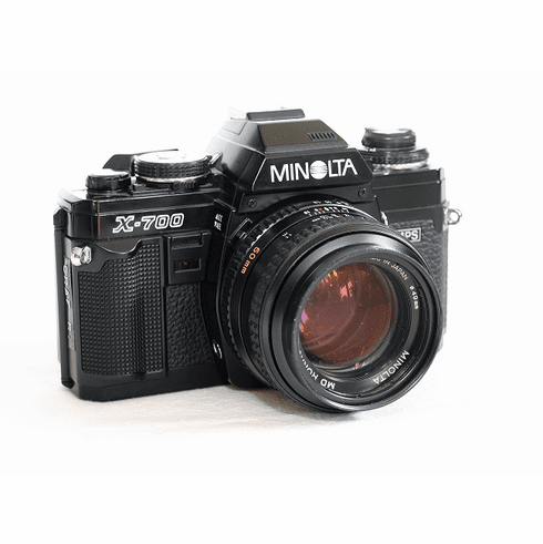 Minolta X-700 35mm Camera with 50mm Lens- Student Camera - Used
