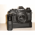 Minolta X-700 w 50mm 1.7 Lens and MD-1 Motor Drive Outfit - Used