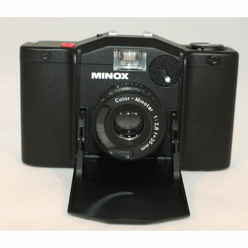 Minox 35 EL Point & Shoot 35MM GERMANY SPY Camera W/ Display Box - Used