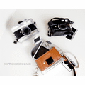 Motif Retro Style Soft Camera Case