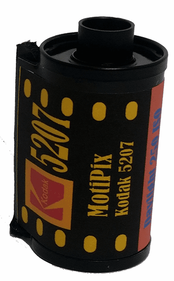 MotiPix Kodak 5207 35 mm x 36 Exp Motion Picture ECN-2 Process Film 250D