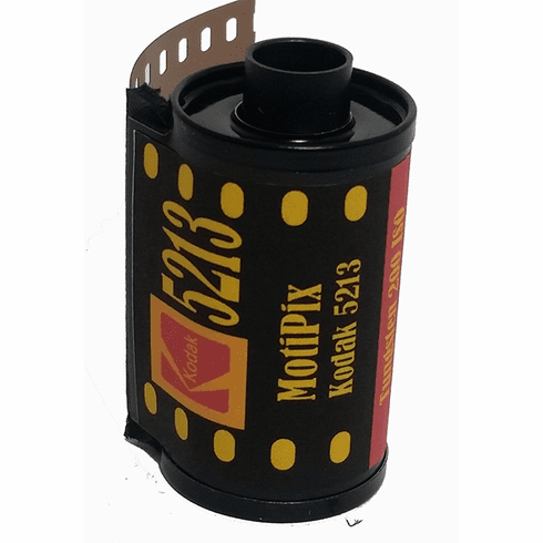 MotiPix Kodak 5213 35 mm x 36 Exp Motion Picture ECN-2 Process Film 200T
