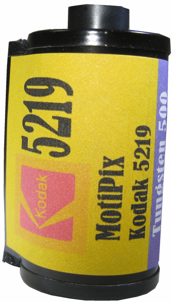 MotiPix Kodak 5219 35 mm x 36 Exp Motion Picture ECN-2 Process Film 500T