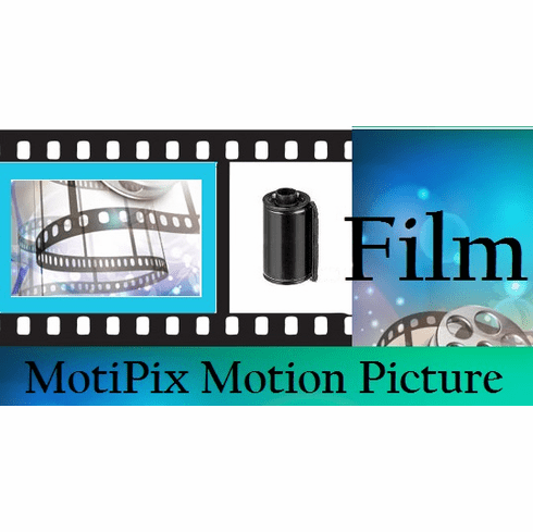 MotiPix Vintage Kodak 5244 35 mm x 100 Ft. Motion Picture ECN-2 Process Film Slow Speed