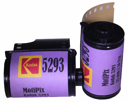 MotiPix Vintage Kodak 5293 35 mm x 36 Exp Motion Picture ECN-2 Process Film 200T