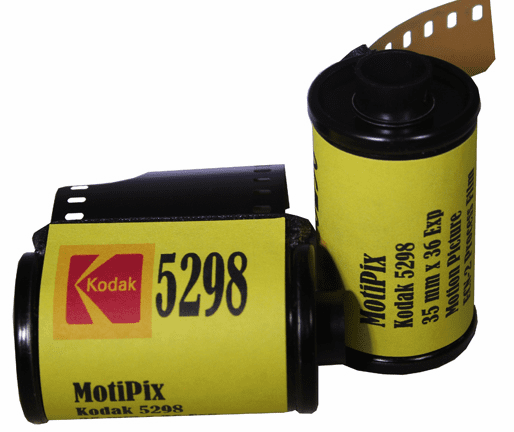 MotiPix Vintage Kodak 5298 35 mm x 36 Exp Motion Picture ECN-2 Process Film 500T
