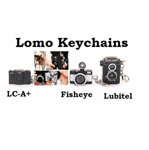 Online Special Lomography Keychain Set of Three (without Cans) 20% Lomo
