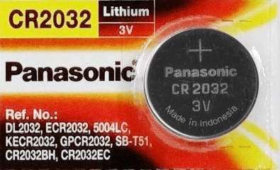 Panasonic Lithium 3V CR2032 Battery