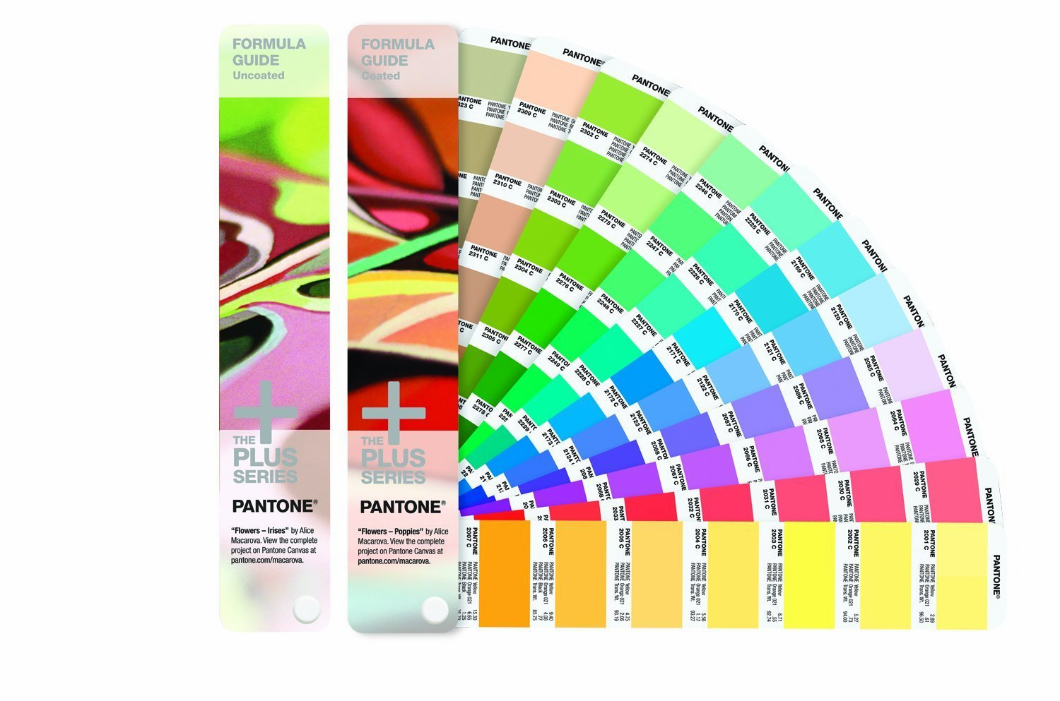 Pantone GP1601 Plus Series Formula Guide Coated and Uncoated