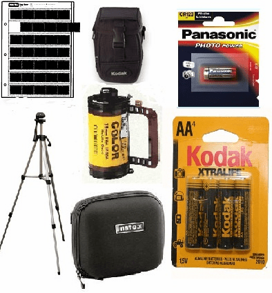 Photo Accessories, Batteries, Camera Bags and Cases, Tripods, Photo Negative and Print Storage