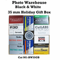 Photo Warehouse Black & White 35 mm Sampler Box - 11 Rolls