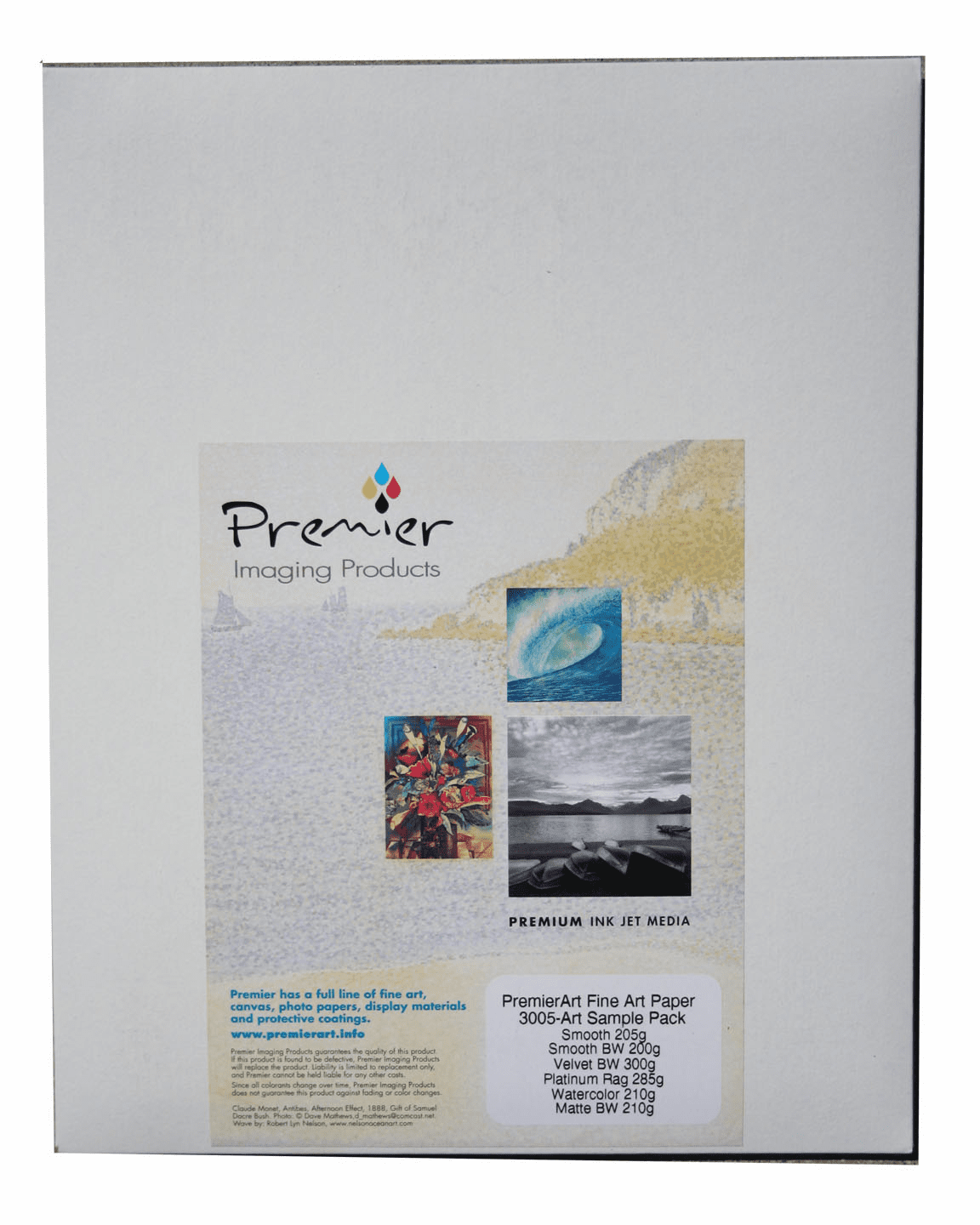 PremierArt Fine Art Paper 12 Sheet Sampler Pack