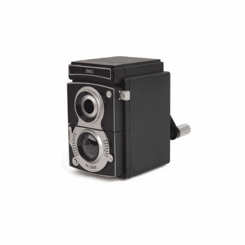 Retro Camera TLR Crank  Pencil Sharpener