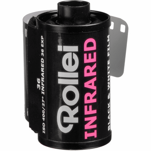 Rollei Infrared 400 Black and White Negative Film 35mm x 36 Exposures