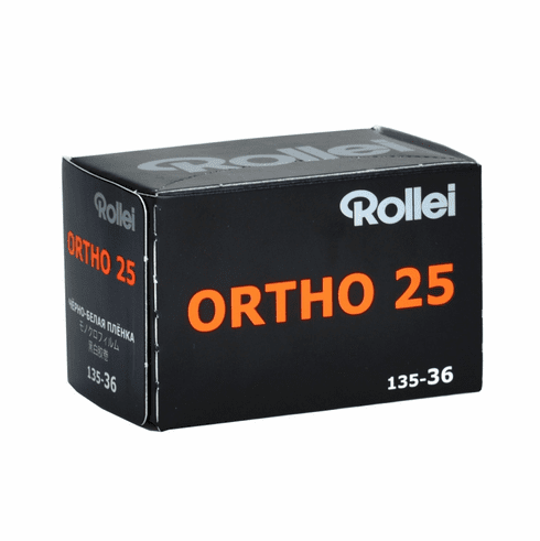 Rollei Ortho 25 ISO 35mm x 36 exposure Film