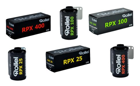 Rollei RPX Black and White Negative Films