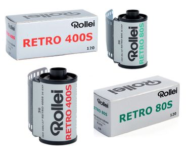 Rollei Retro Black-and-White Films