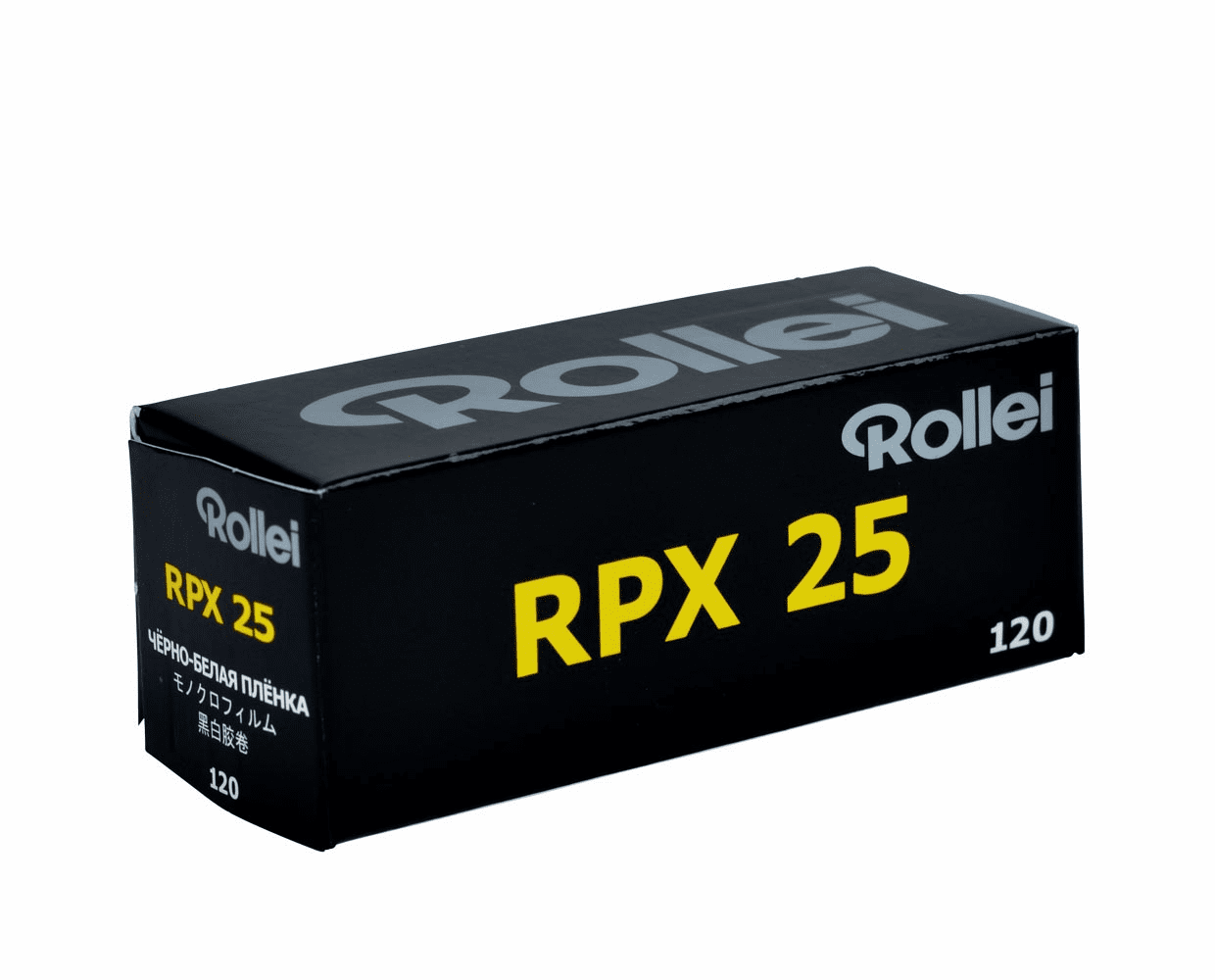 Rollei RPX 25 Black and White Negative Film 120 Format