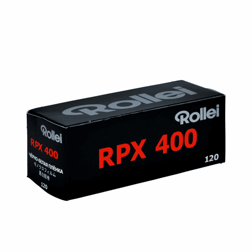 Rollei RPX 400 Black and White Negative Film 120 Format