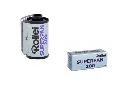 Rollei Superpan Black-and-White Films