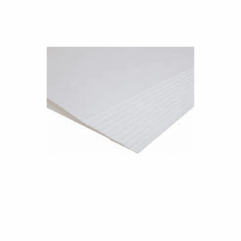 "Single Weight  Mount Board White Both Sides 11"" x 14"" / 50"