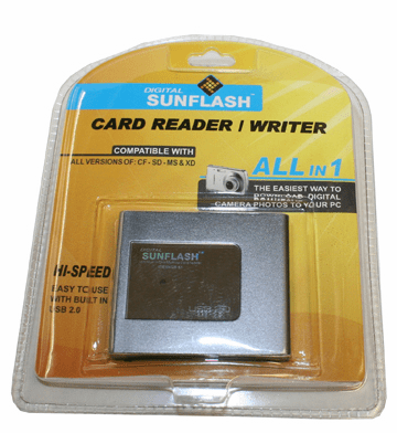 SunFlash All in One USB Card Reader