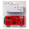 Superheadz ikimono Flash Buchi 110 Format Camera Spotted Cat with Film