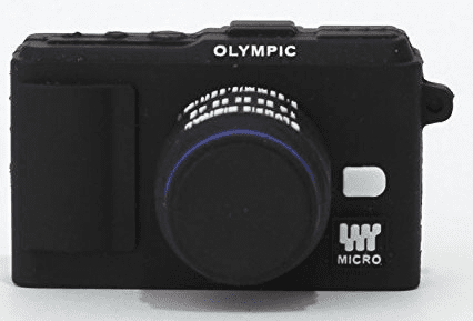 Superheadz Powershovel Olympus Black Mini Camera Shape 4gb USB Flash Drive