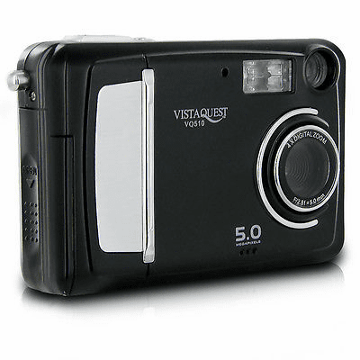 Superheadz Vistaquest VQ-510 Black 5MP Digital Camera