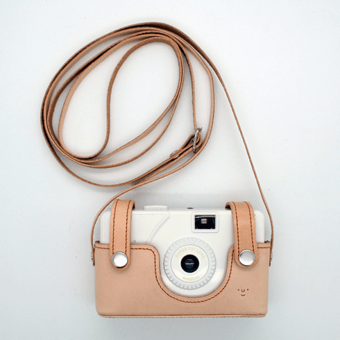 Superheadz Wide and Slim Leather Case Natural (Tanned)